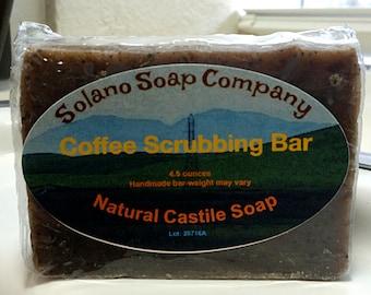Coffee Infused Scrubbing Soap Bar