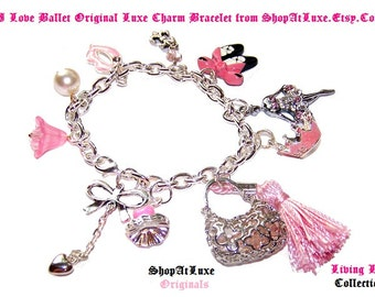 Feminine Wiles - Ltd Original Charm Bracelet by ShopAtLuxe