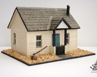 Miniature Model 1/48th Dolls House KIT - The SANDY COVE - 1:48th Scale