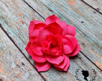 Pink Lotus Flower Barrette