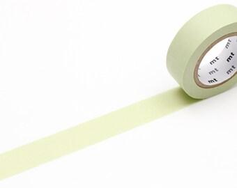 MT washi tape, pastel olive, 15 mm