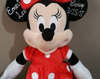 Personalized Mickey Mouse or Minnie Mouse, Birthday Gifts