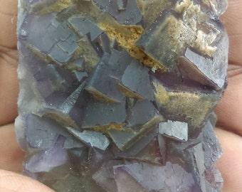 Purple Fluorite Crystal  , Fluorite octahedrons on matrix ,  Fluorite with green  , fluorite rough , fluorite slice ,