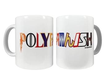 Polyfannish 11oz Ceramic Coffee Mug