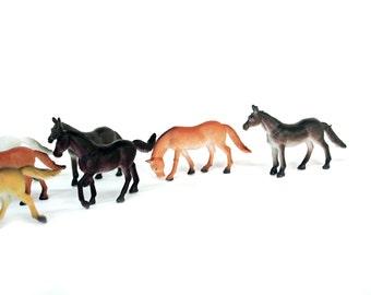 Vintage Plastic Horses