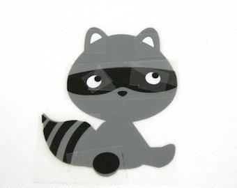 Pattern/transfer in flex fusible raccoon large format