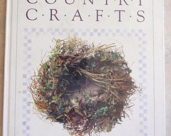 Country Crafts Family Circle Craft Basics Tutorial How To Book ISBN 0933585209 041714UP