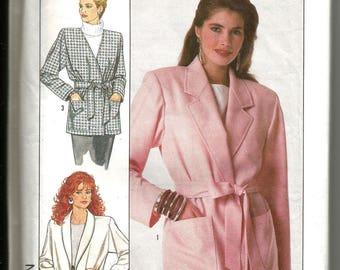 Simplicity 8803 uncut vintage 1988 size 14 - 20 lovely classic womans jacket