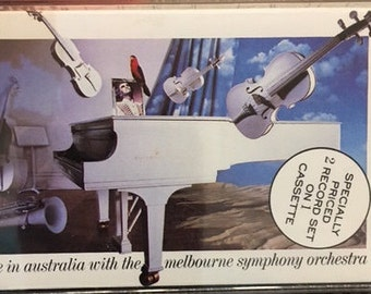 Elton John live In Australia With The Melbourne Symphony Orchestra Cassette tape