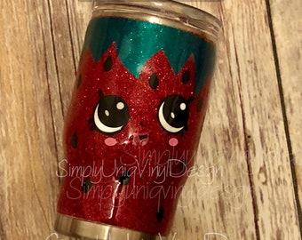Kid's Tumbler   Strawberry Glitter Tumbler   Strawberry Tumbler   Glitter Tumbler   Strawberry