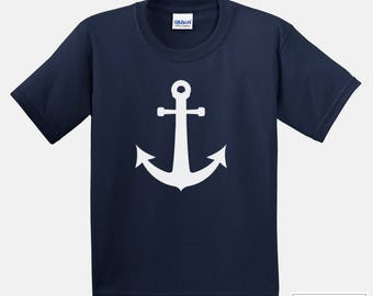 Kid Cruise Shirt / Anchor shirt / 239
