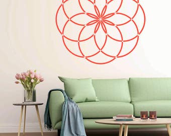 Flower Of Life Wall Stencil  Pattern Stencil, in reusable Mylar