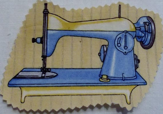 MACHINE SEWING 1 - FUSIBLE COTTON APPLIQUE