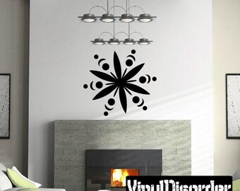 Snowflakes Vinyl Wall Decal Or Car Sticker - Mv017ET