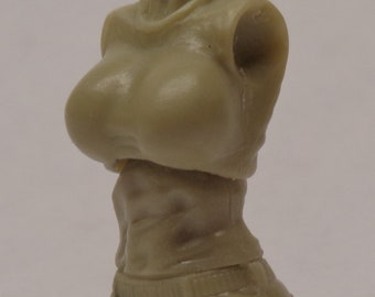 Female Torso with T-Shirt