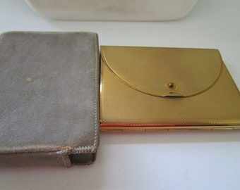 Coty Compact in a Gold Tone