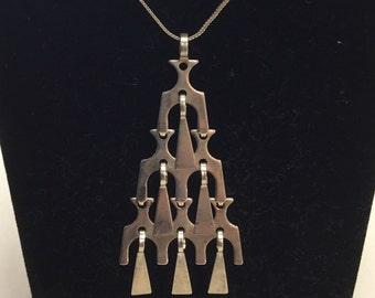 Vintage David Andersen Sterling 925 Necklace