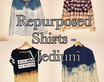 Repurposed Button Ups (Medium)