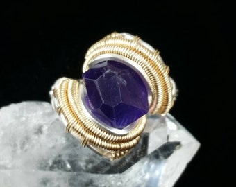 Size 6 Amethyst Ring