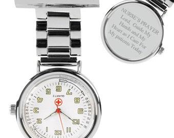 A Nurse's Prayer Nurse's Fob Watch (GW159) EY18