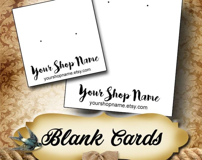 BLANK CARDS•Custom Tags•Labels•Earring Display•Clothing Tags•Custom •Boutique Card•Tags•Custom Tags•Custom Labels