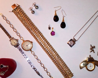 SET of 14 jewelry