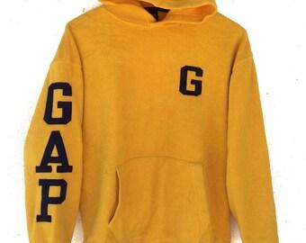 RARE!! Vintage 90s GAP hoodie skate