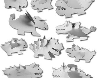 10 Cardboard Dragons