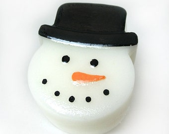 Frosty Snowman - Junior Goat's Milk Soap Bar