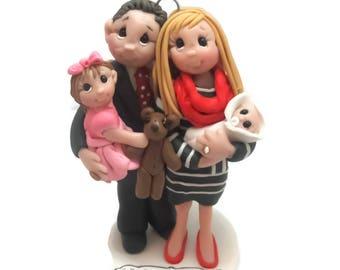 Custom Family Christmas Ornament 2017