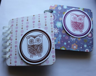 OWL - Post It Note Holder Planner - Set of 2