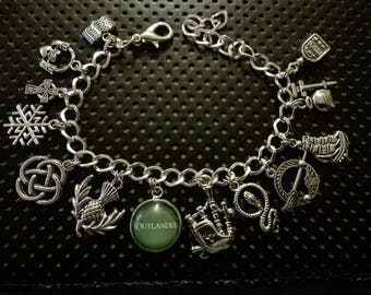 Bracelet inspired by the tv show and the book Outlander