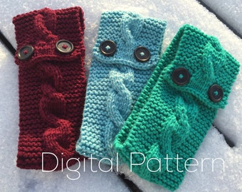 Easy Knitted Cable Headband Pattern