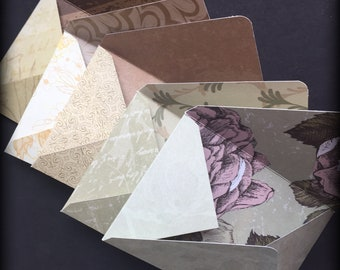 Envelopes, snail mail, happy post, journal pockets, papercraft, scrapbooks, card making