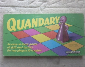 Quandary board game by spears
