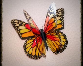 Clear Acetate Butterflies