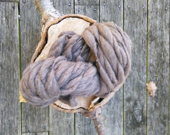 100% New Zealand Merino wool Hand spun yarn Undyed