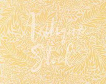 Floral Digital Paper 'Larkspur' Vintage Pattern Illustration Digital Download for Scrapbook, Decoupage, Stationery, Invitations...