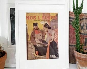 Magazine November 4, 1906 french leisure. Vintage 1906 France