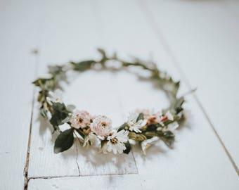 Spring Bloom Flower Crown