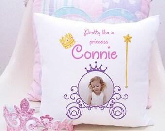 personalised cushion, nursery cushion, personalised cushion girl, personalised baby cushion, personalised cushion baby, nursery decor