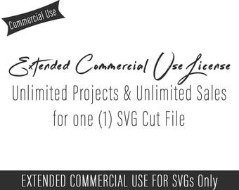 Extended Commercial Use License Add-on for SVG Files