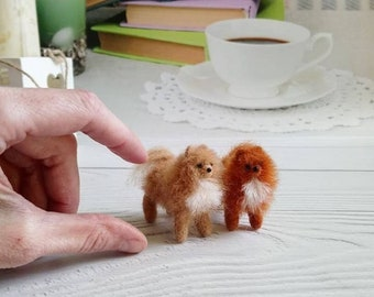 Pomeranian dog toy