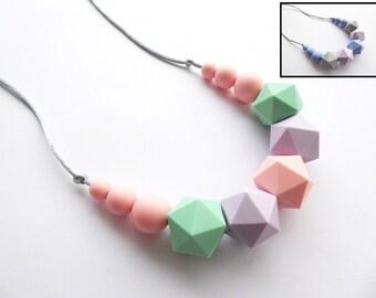 Silicone Teething necklace Breastfeeding Necklace Babywearing Silicone Nursing necklace Baby Teething Necklace Teether Sensory Necklace