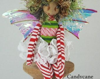 Pocket Pixie-Christmas Themed OOAK Art Doll