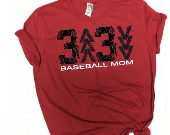 Baseball mom shirt 3 up 3 down