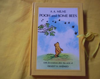 A. A. Milne - Pooh and Some Bees with decorations after the style of Ernest H. Shepard