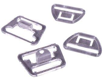 SALE Clear Nursing Clips - 18mm - 10 Sets (PM18C-10)