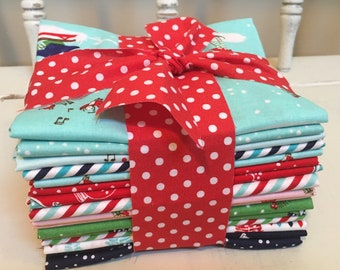 Pixie Fat Quarter Bundle (16 piece) by Tasha Noel for Riley Blake Designs (CUT BY ME, Branchway Quilts)