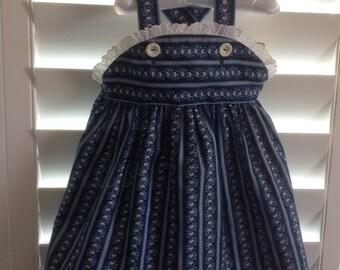 "Girl's Handmade Sundress, Size 3-5--""Tabitha"""